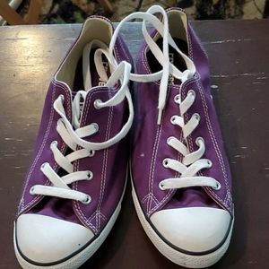 Ladies Purple Converse